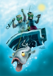 Alien Anglers